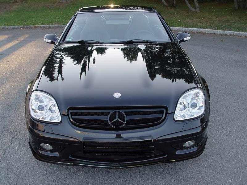 Mercedes Benz Slk R170 1996 2004 Chrome Led Halo Angel Eye
