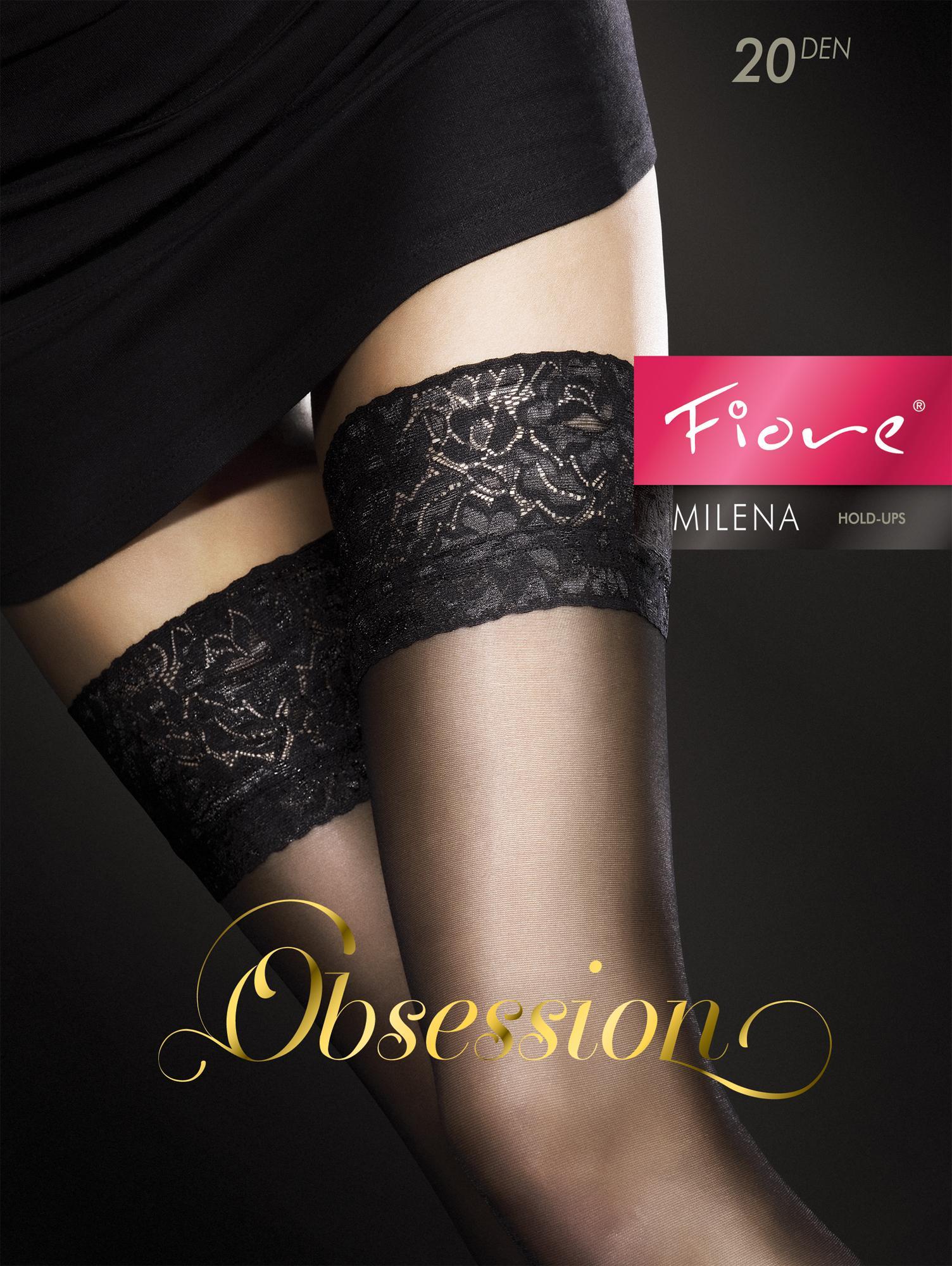 Fiore Contessa//Obsession Autoreggenti 40 DEN Donna