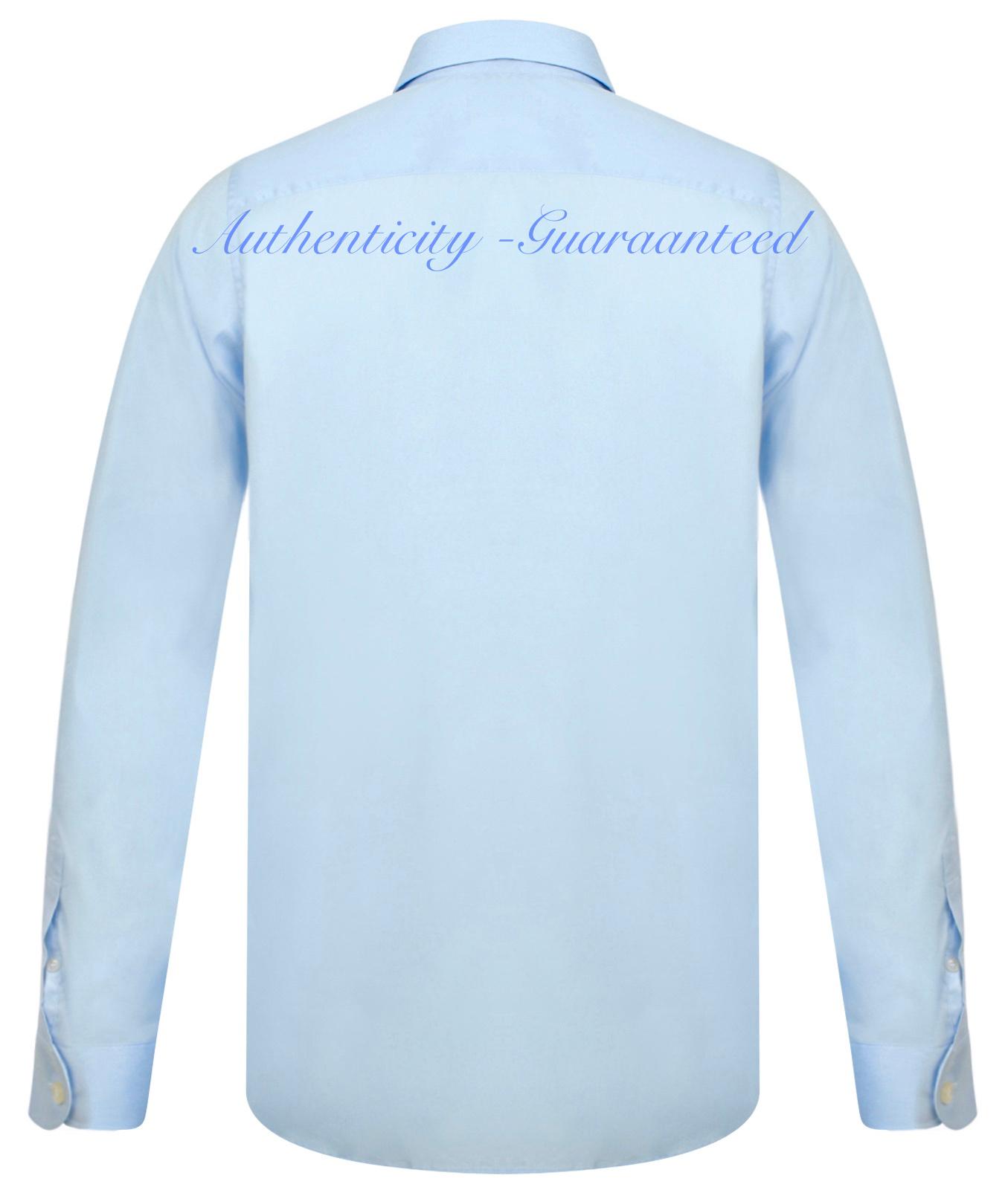Lacoste Men/'s Short Sleeve Linen Shirt Blue Turquoise RRP £100 BNWT SALE!