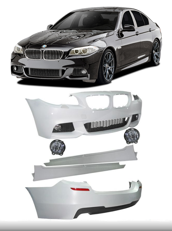 Details about PAINTED BMW 5 SERIES F10 SALOON M TECHNIK M-SPORT BODY KIT  BUMPERS SIDE SKIRTS