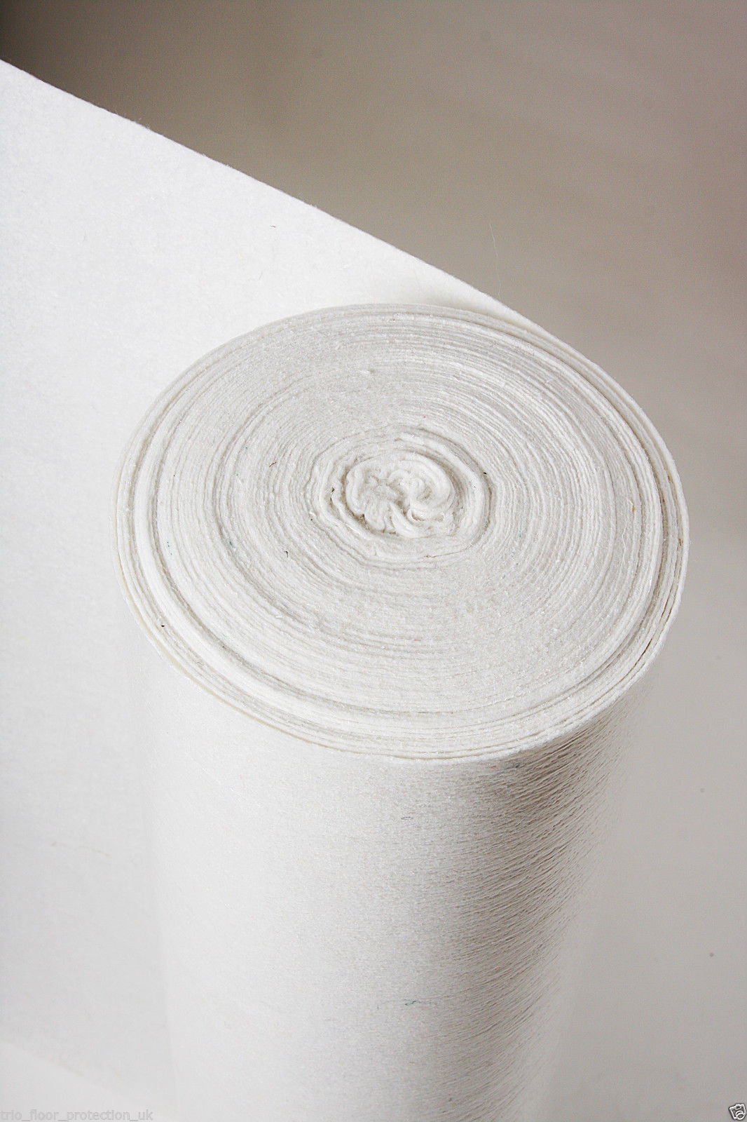 Temporary Hard Floor Protection Roll Standard White