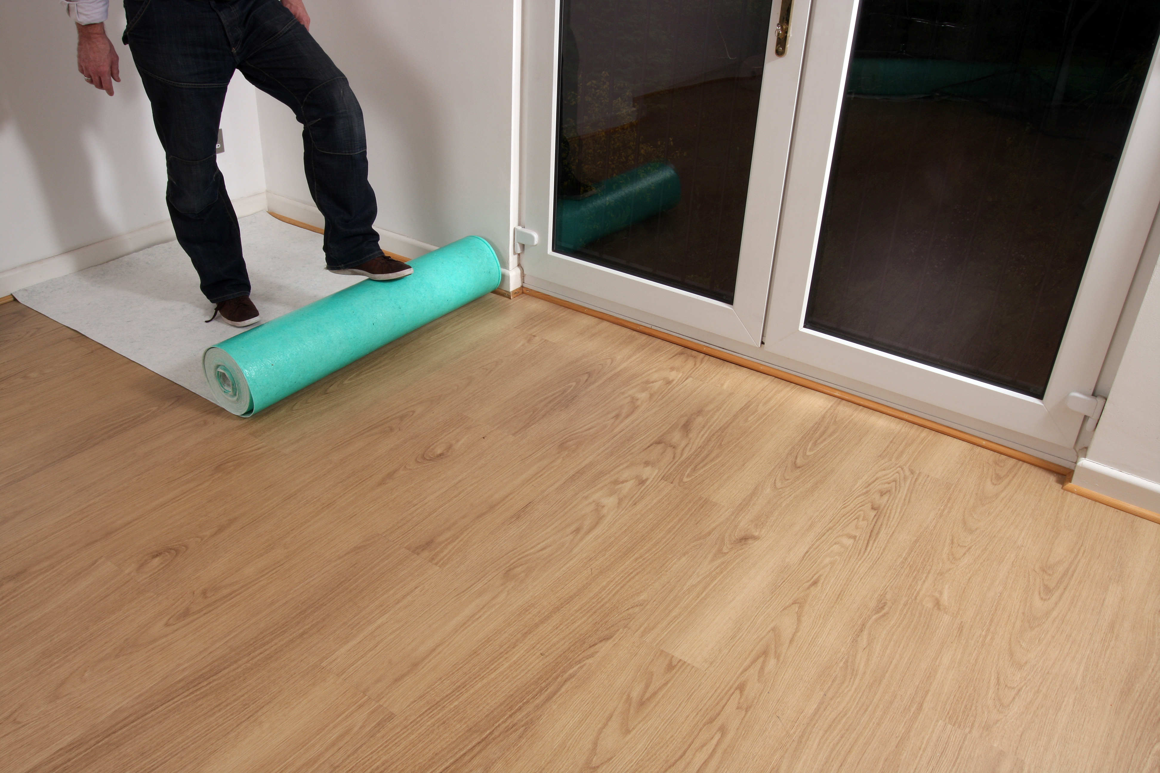 Temporary Hard Floor Protection Premium Self Adhesive